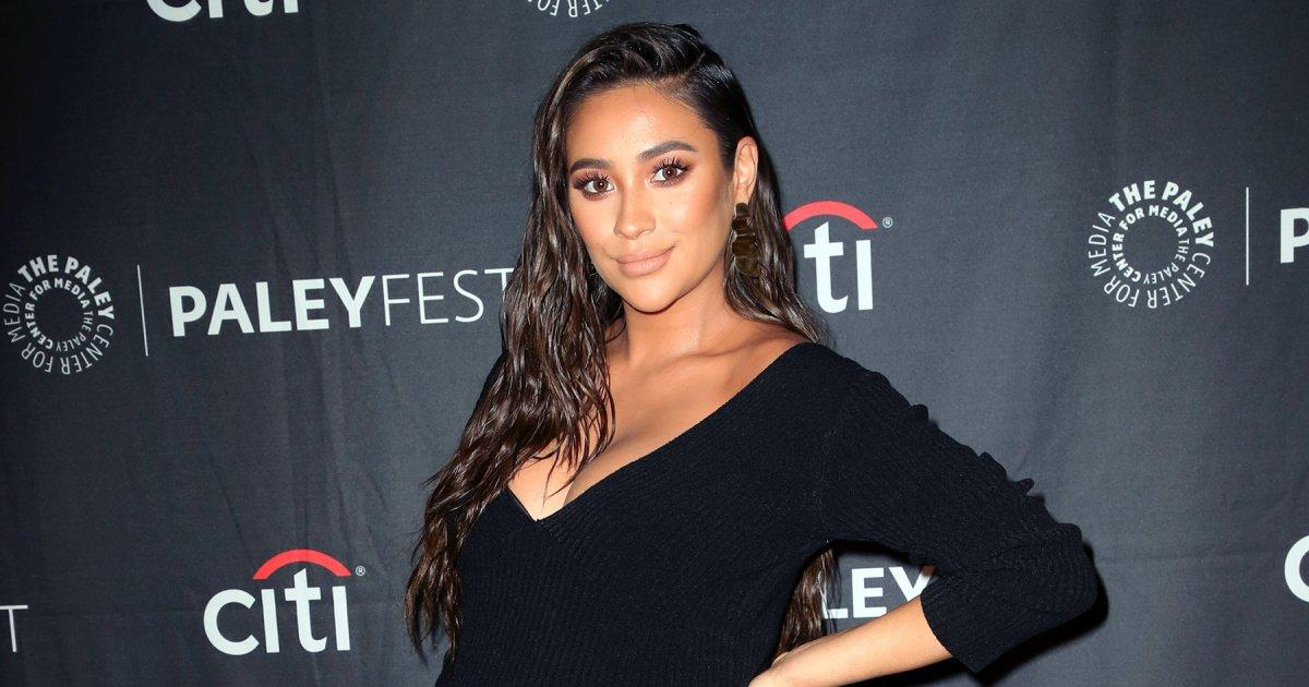 Pregnant Shay Mitchell Shows Off Baby Bump on Red Carpet