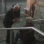 Why this photo of Joe Biden talking with a homeless man went viral