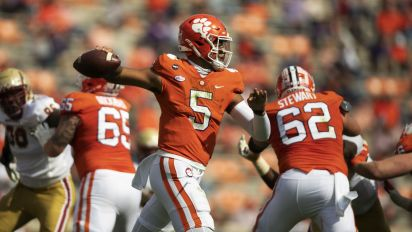 Clemson survives Halloween scare from BC