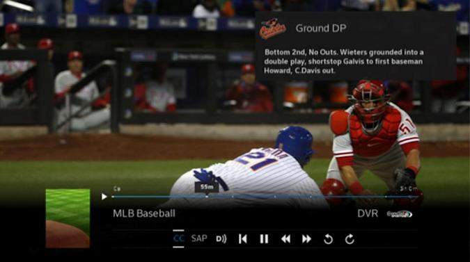 Comcast's X1 box automatically records extra-long events