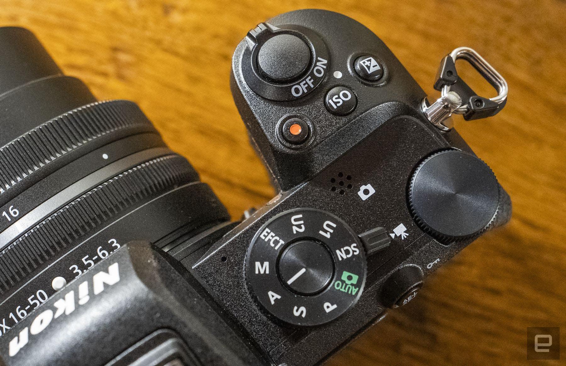Nikon Z 50 APS-C DX mirrorless camera
