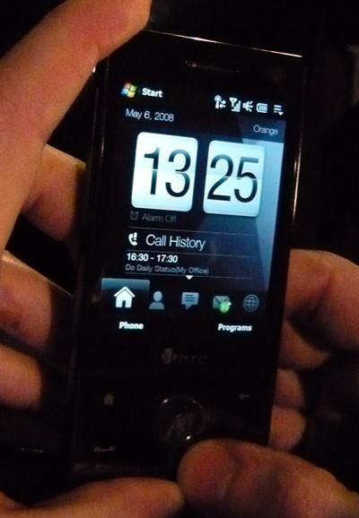 HTC Touch Diamond hands-on