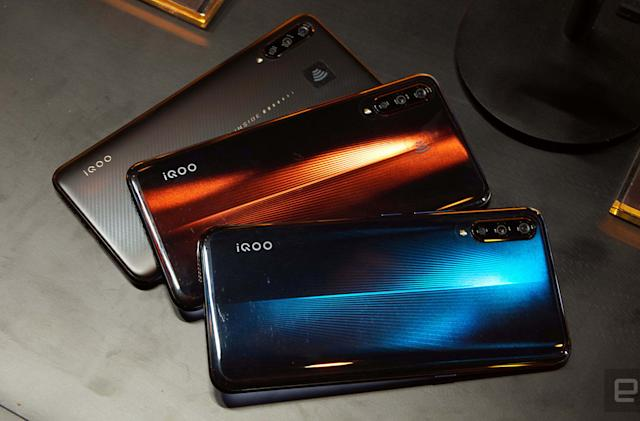 Vivo's iQOO phones are tuned for hardcore mobile gamers