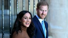"""Prinz Harry und Herzogin Meghan verlieren Titel """"Königliche Hoheit"""""""
