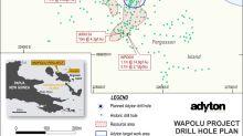 Adyton Resources mobilises diamond drilling rig at Wapolu Gold project on Fergusson Island
