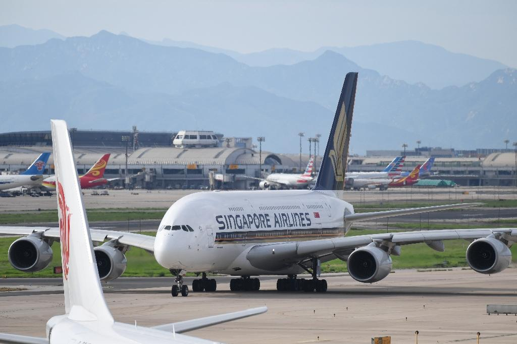 """Singapore Airlines confirmed that a customer had found what seemed to be """"a foreign object in their meal"""""""