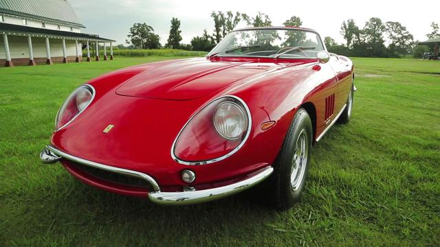 Rare Ferrari sold at auction for world record $27.5 million