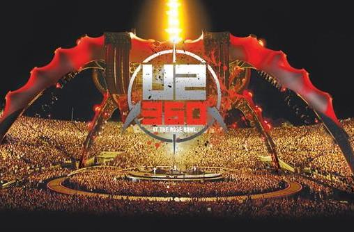 U2 360° Tour Blu-ray actually makes compelling use of BD-Live