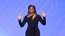 Michelle Obama Puts Edgy Post-White House Style on Display at the ESPYs