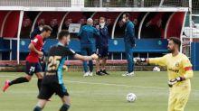 2-1. Osasuna vence al Alavés con el Chimy Ávila en el once titular