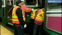 MBTA: No cell phone use, mechanical failure in trolley crash