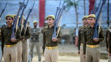 India police decommission historic British-era rifles