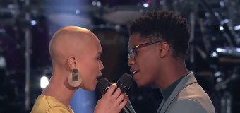 Sexiest 'Voice' Battle ever: 'Incredibly intimate'