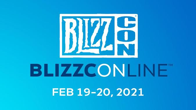 Blizzcon will be held online on February 19-20, 2021