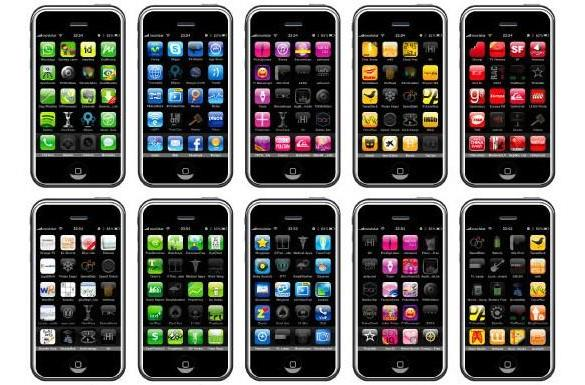 iPhone font created out of 540 apps and a love for the arcane (video)