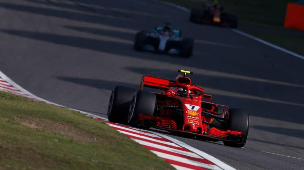 Raikkonen:我在中國GP一度看起來很不妙