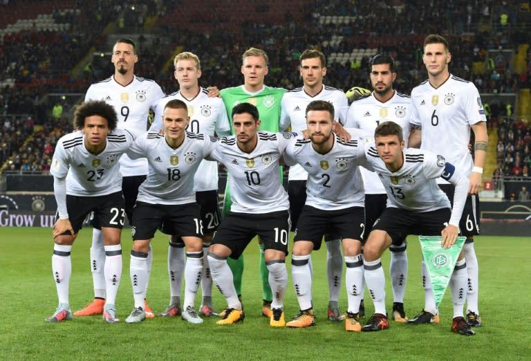 6ff4f23422 Cada jogador da seleção alemã receberá 350.000 euros em caso de título da  Copa do Mundo da Rússia-2018
