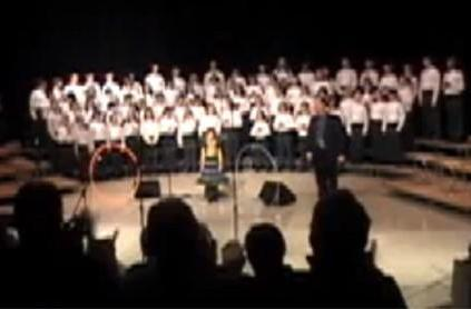 Children's choir sings Jonathan Coulton's 'Still Alive'
