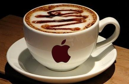 I'll take the MacBook, hold the macchiato: no coffee in Apple Stores, please