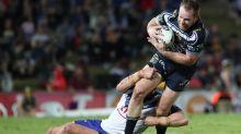 Michael Morgan's NRL return hinges on baby
