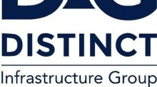 Distinct Infrastructure Group Reports Third Quarter Financial Results