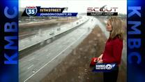 Roads will be wet for evening commute