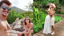 Camila Queiroz e Klebber Toledo ficam em resort com diárias de até R$ 40 mil
