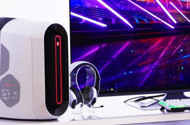 Alienware's Aurora desktop and gaming monitors get a huge redesign