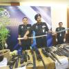 Police vest, samurai swords seized in ganja plant raid against actor, others