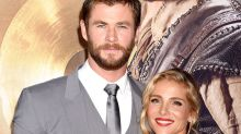 Chris Hemsworth's Wife, Elsa Pataky, Pretends His Jacked Arms Aren't Amazing