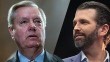 Sen. Lindsey Graham advises Donald Trump Jr. to ignore Senate subpoena