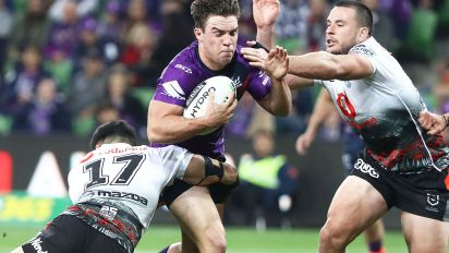 Unlikely hero saves Storm for ugly NRL victory