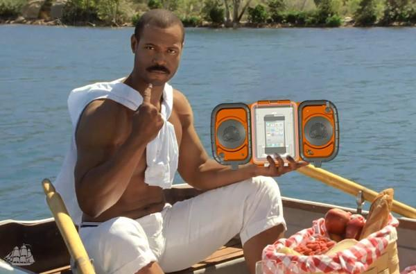 Grace Digital's rugged Eco Terra iPhone dock: because nature's too quiet for you