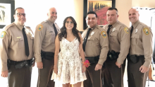 Police Officers Pose for Prom Pictures With Fallen Officer's Daughter
