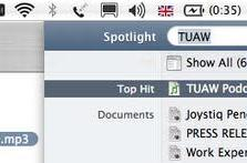TUAW Tip: Quickly reveal enclosing folders in Spotlight