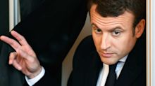 Watch the new French president go into a swearing rage when his soccer team loses