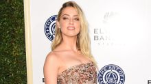 Amber Heard Abruptly Leaves Beverly Hills Gala Before Receiving Humanitarian Award Due to 'Serious Emergency'