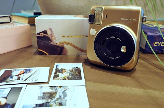 Fujifilm and Michael Kors made a fashionable instant camera
