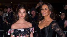 Catherine Zeta-Jones and Daughter Carys Zeta Douglas, 14, Twin at Fancy Fashion Event