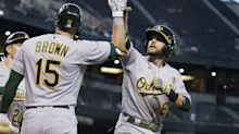 Two-game sweep for A's, fountain of youth for Jed Lowrie