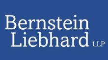 Allegiant Shareholder Alert: Bernstein Liebhard LLP Announces That A Class Action Lawsuit Has Been Filed Against Allegiant Travel Company - ALGT