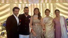 Virushka Mumbai Reception: Anushka Sharma and Kangana Ranaut hold each other's hands as they pose together