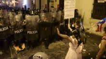 Puerto Rico police clash with protesters against governor's sexist texts