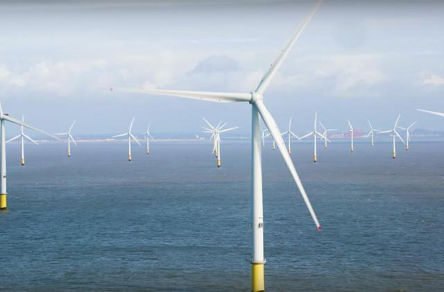 UK switches on the world's largest wind turbines