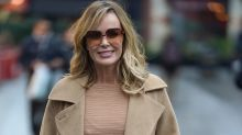 Amanda Holden mows lawn in wedding dress to keep us all amused during lockdown