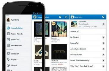 Rdio posts Android beta app with new sidebar UI, unified playback and remote control