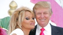 Pamela Anderson posts throwback photos with Melania and Donald Trump after praising 'leading couple of the people'
