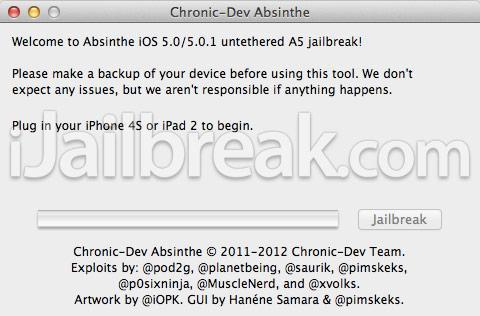 Absinthe A5 jailbreak released for iPhone 4S, hacker Dream Team makes untethered dreams come true