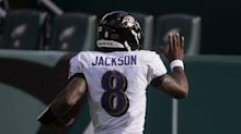 Lamar Jackson already tied with Michael Vick for most double-triples in NFL history