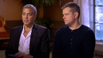 Damon, Clooney say they never saw Weinstein's 'darkness'